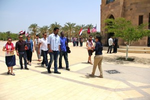Fellows at the American University in Cairo