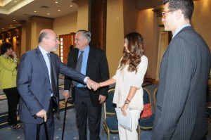 Mr Shafik Gabr, Hisham and Amina Khalil and Omar Abaza