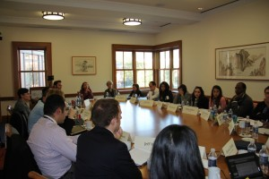 Gabr Fellows at Yale debate