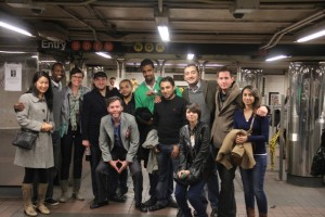Gabr Fellows in the New York Subway