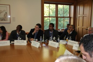 Gabr Fellows at Yale Lecture