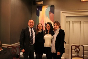 Mr Shafik Gabr, Adelaide, Malak and Elizabeth Goodyear