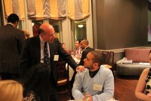 Mr Shafik Gabr and Mohammed Mubarak