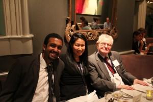 Amr Ismaeil, Leslie Land and Dr Ghaleb Abdel Rahman