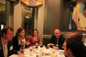 Elizabeth Goodyear, Prof. Emma Skyand and Mr Shafik Gabr