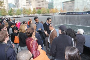 Gabr Fellows at Ground Zero, New York