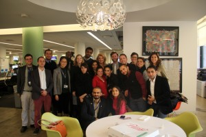 Gabr Fellows with Arianna Huffington