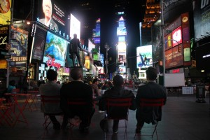 Gabr Fellows at Times Square