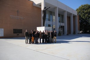 Gabr Fellows at the Martin Luther King Center