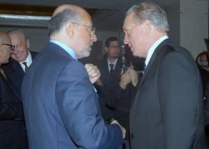 Mr Shafik Gabr and Jim Clifton