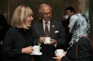 Al and Veronica Trenk with Marwa Ibrahim