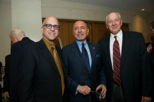 Ken Monnens, Mr Shafik Gabr and George Noble