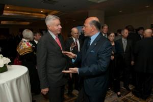 Congressman Thomas Petri and Mr Shafik Gabr