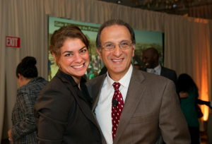 Beth Cartier and Jim Zogby