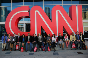 Gabr Fellows at CNN HQ