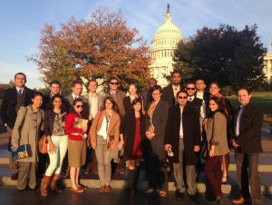 Gabr Fellows at the US Capitol