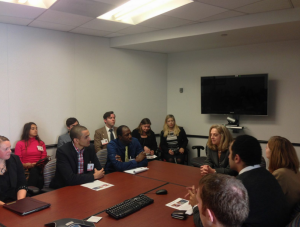 Meeting with Alina Romanowski, Acting Assistant Administrator for the Middles East Bureau