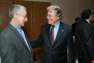 Doug Schoonover and Hussein Fahmy