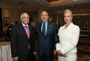 Lou Pugliaresi, Mr Shafik Gabr and Gehan Gabr