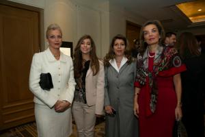 Gehan Gabr, Yasmin Ghorbal, Shahdan Gabr and Sherine Badrawy