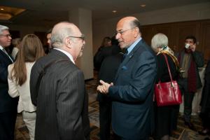 Prof. Robert Klapisch and Mr Shafik Gabr