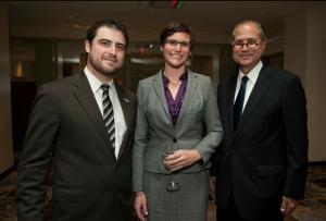 Daniel Sullivan, Christina Fallon and Spiros Voyadzis