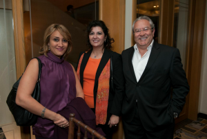 Gamal Helal, Heba Koudsy and Mr Alan Hamada