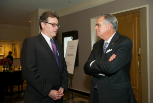 Lloyd Grove and Secretary Ray LaHood