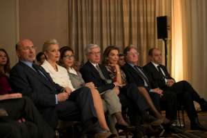 Mr Shafik and Gehan Gabr, Shahdan Gabr, Taher Helmy, Cherine Helmy, Hussein Fahmy, Ambassador Ahmed Farouk