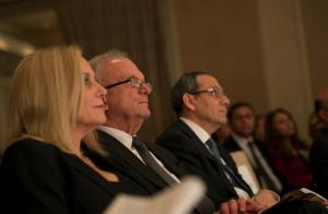Janice, Rep. Howard Berman and Ambassador Mohamed Tawfik