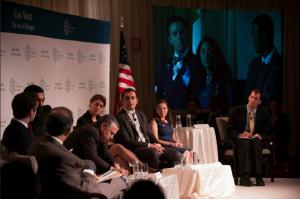 Thomas Friedman and the panel