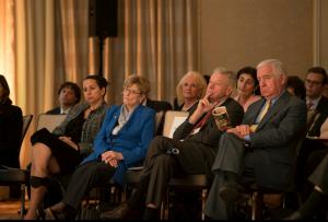 Maya Berry, Congressman Petri and Rahall