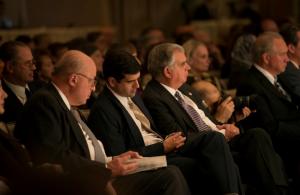 Mr John Negroponte, Sam LaHood and Secretary Ray LaHood
