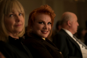 Veronica Trenk and Mrs Georgette Mosbacher
