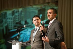 Ahmed El Habibi and Daniel Lansberg-Rodriguez