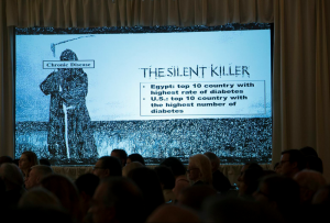 The Silent Killer project slide