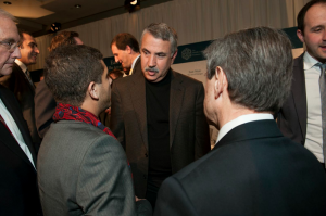 Thomas Friedman and Eric Parnes