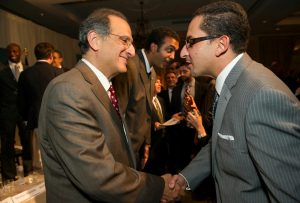 Dr Zogby and Dr Ashraf El Fiky