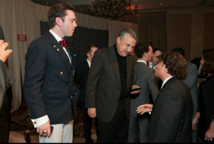 Thomas Friedman with Prof. Jonathan Goldman