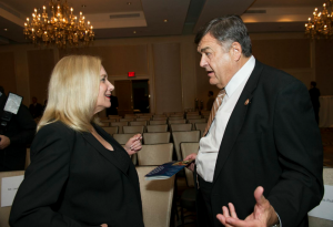 Janis Berman with Congressman Dutch Ruppersberger