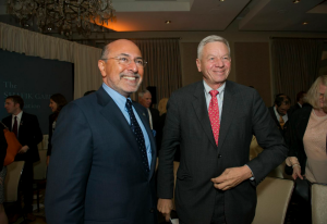 Mr Shafik Gabr and Congressman Thomas Petri