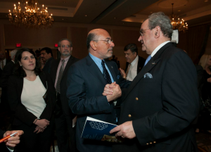 Mr Shafik Gabr with Jean Rosanvallon