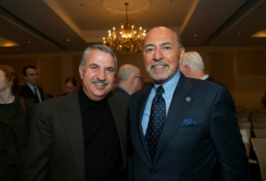 Mr Shafik Gabr and Thomas Friedman