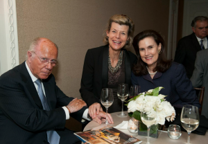 Arnaud de Borchgrave, Diane Negroponte and Mrs de Borchgrave