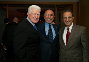 Congressman Jim Moran, Mr Shafik Gabr and Dr James Zogby