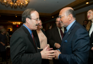 Congressman Eliot Engel and Mr Shafik Gabr