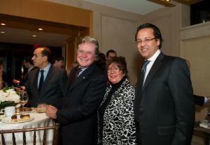 Hossam Maksood, Hussein Fahmy and Consul Hani Nagi