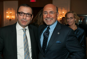 Mr Shafik Gabr and Salih Mutlu Sen