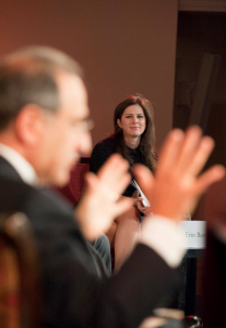 Erin Burnett and James Zogby