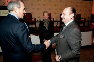 Bob Frye and Ambassador Youssef Zada